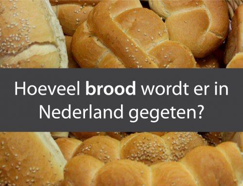 Hoeveel brood wordt er in Nederland gegeten?